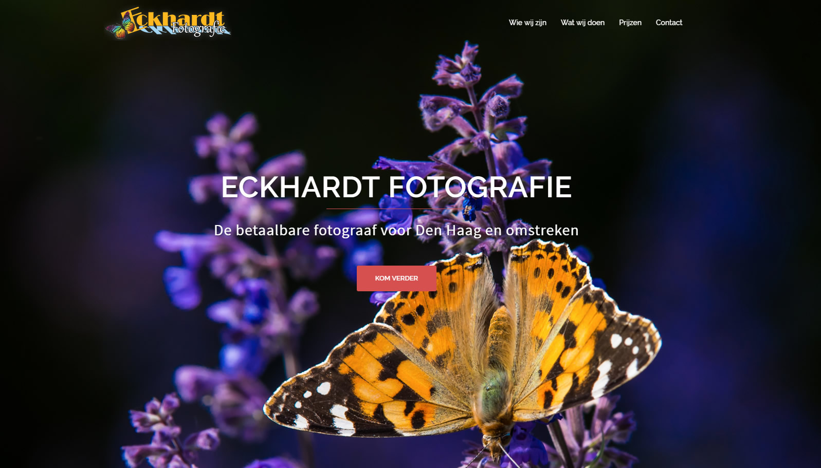 website Eckhardt Fotografie