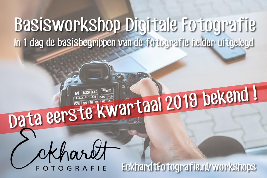 workshop fotografie eerste kwartaal 2019