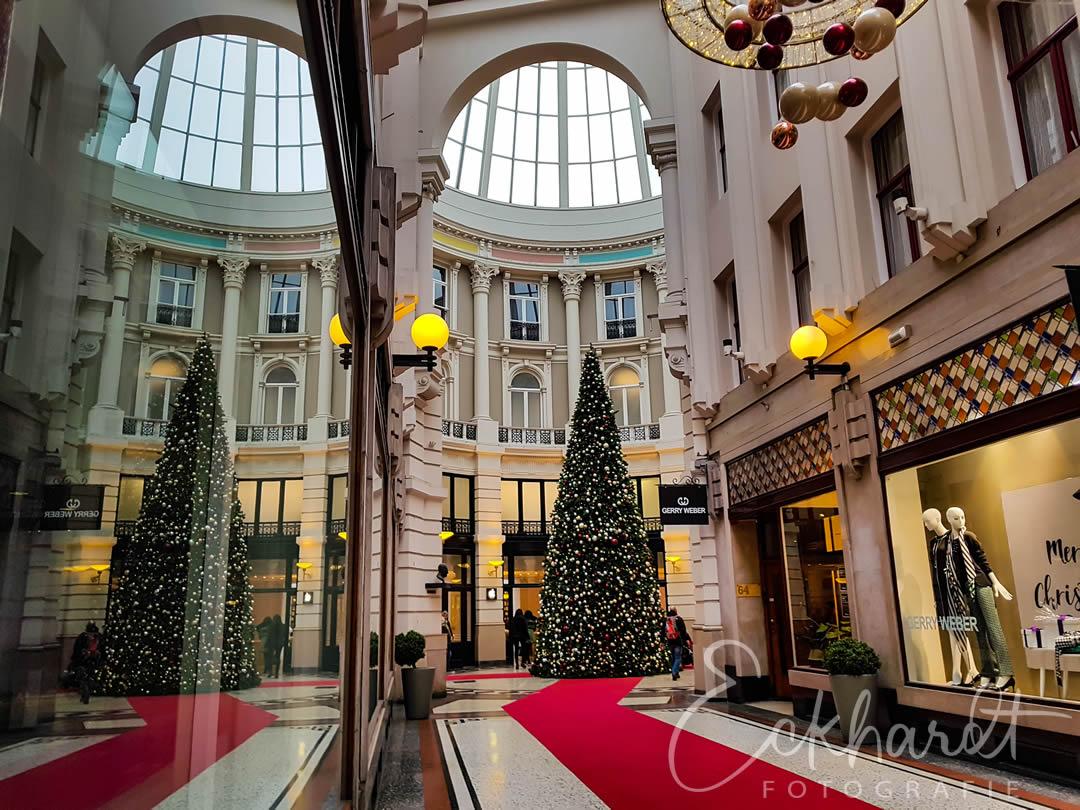 Kerst in de Passage in Den Haag