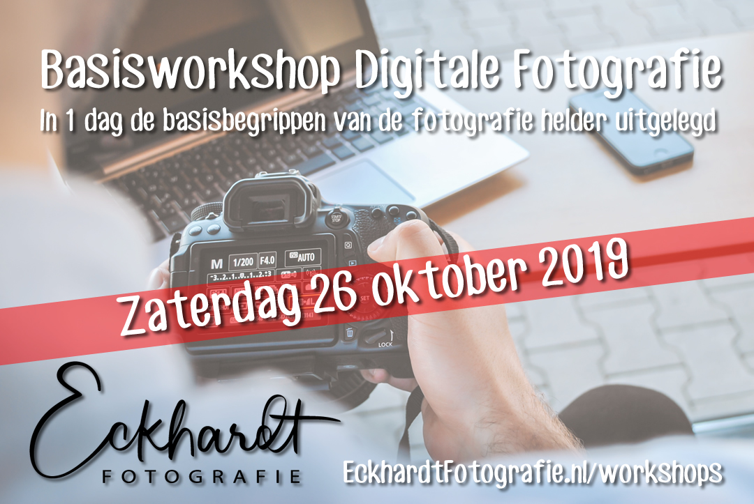 workshop digitale fotografie voor beginners