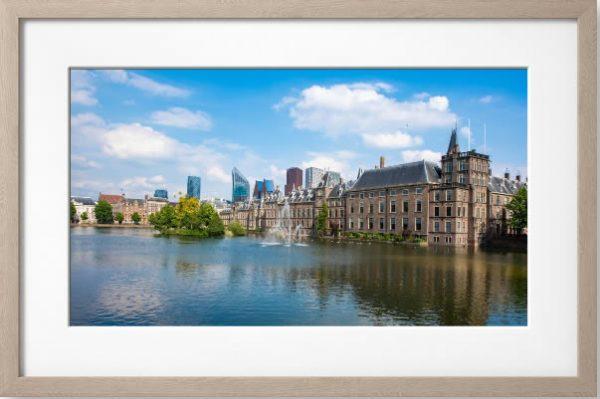 Fotolijst Binnenhof met de Hofvijver