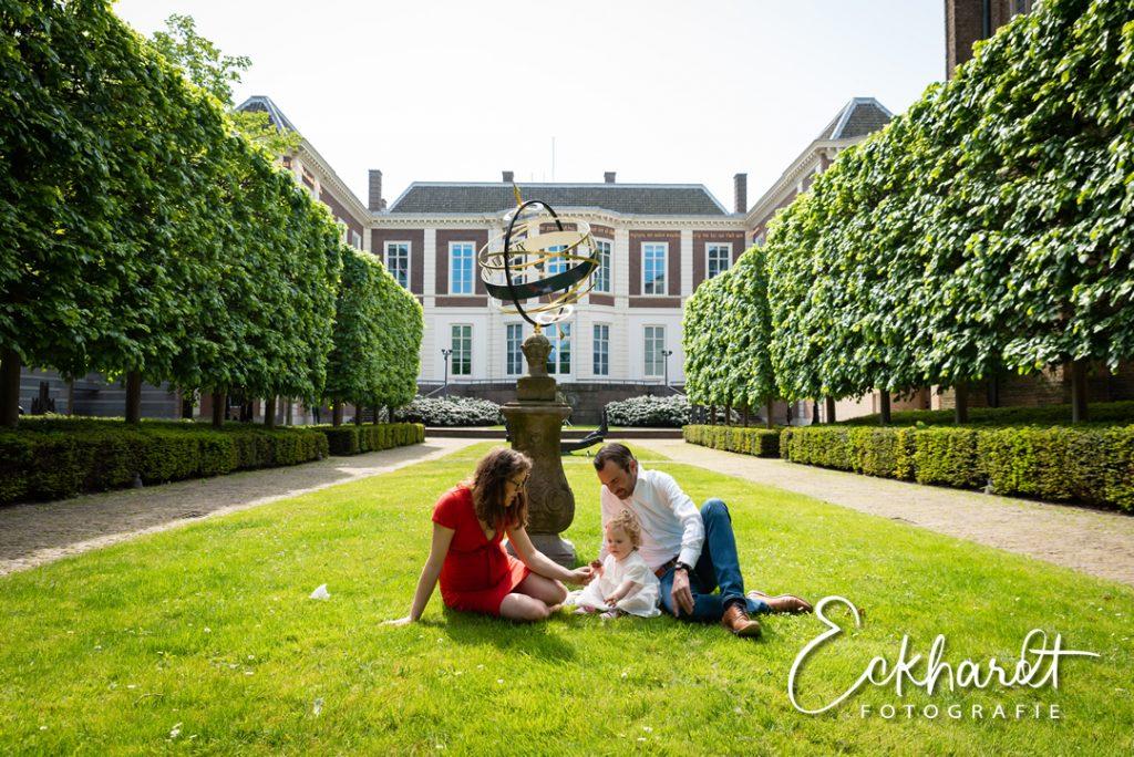 Zwangerschapsfotografie in het centrum van Den Haag