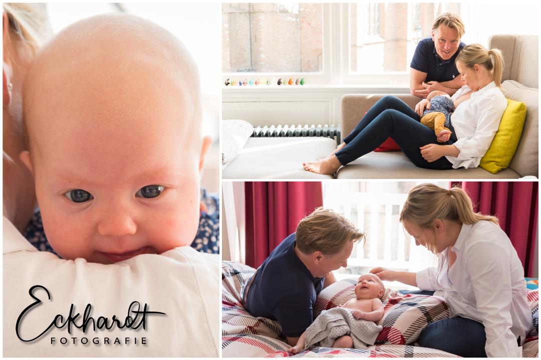 Een lifestyle newborn fotoshoot in de Corona-crisis