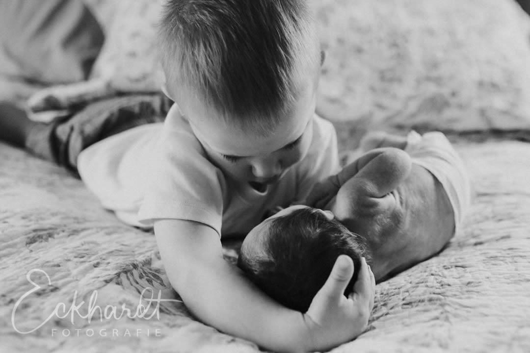 Newborn fotografie in je eigen slaapkamer