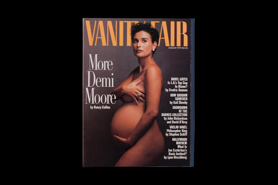 Demi Moore als prachtig voorbeeld